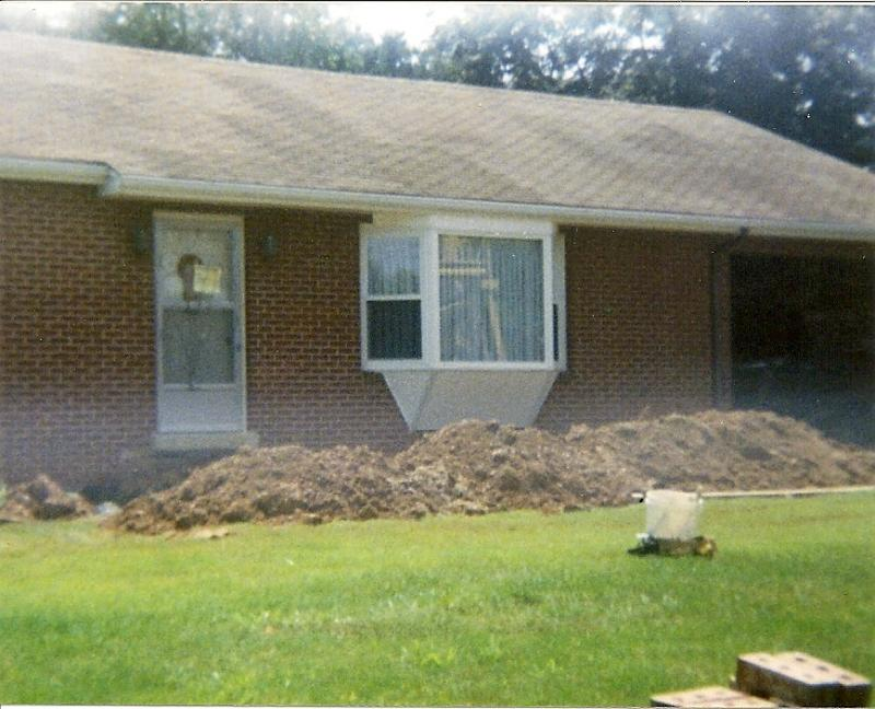 ... porch, re-roof, and addition on the back. Before and after. Scroll